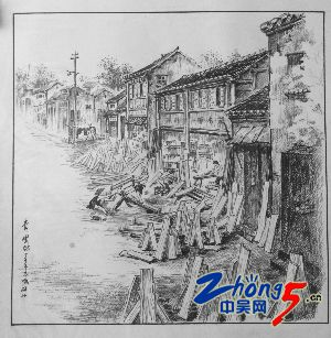 常州红梅公园简笔画
