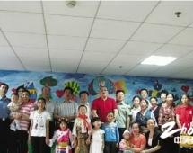 图文:4名西藏先心病康复患儿专程来到常州感恩