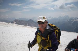 2014年8月22日登顶厄尔布鲁士山峰
