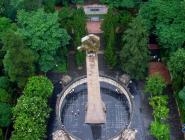 贵州:航拍红军山烈士陵园