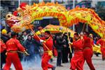 传统民间舞龙