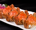 """长假""""新鲜菜单"""":螃蟹、养生野山珍菜"""