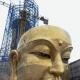 安徽九华山99米高铜佛像建成 投资3亿多元