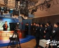 组织参观演播室
