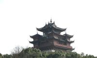 吴山天风城隍阁 ——图游杭州