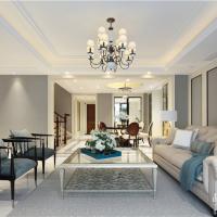 常州别墅装修 450平美式风格案例欣赏