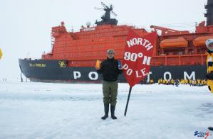 2012年7月1日到达北极极点