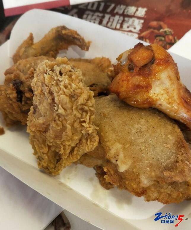 中午和同事来吃肯德基,现在原味鸡块都这么点大了吗 难道我吃了假的肯德基图片