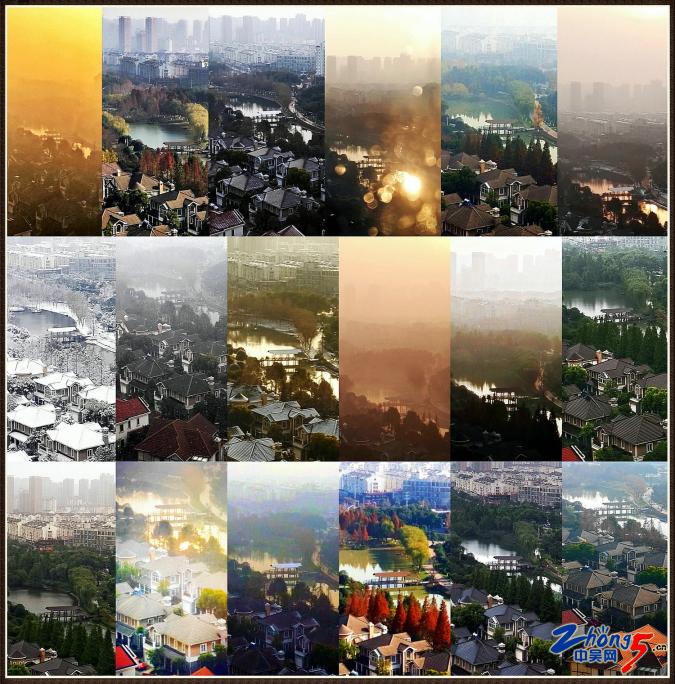 美丽家园 iPhone7 吴建敏 四季变换的家门口美丽景色.JPG