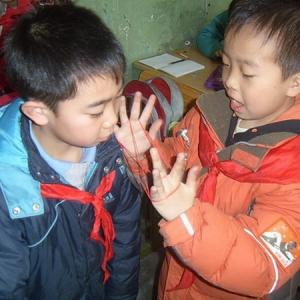天宁区青龙苑社区与智障儿童手牵手、心连心