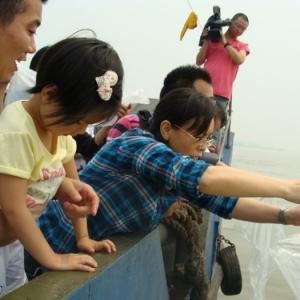 2011年长江放鱼活动