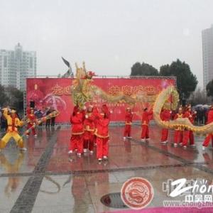 新北区:献舞龙年元宵节