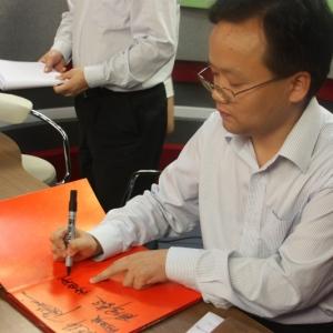 江苏银行常州分行副行长张泽毅等走进中吴网