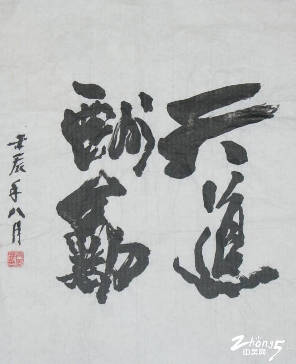 肖闽进 天道酬勤 卫生局侨联选送