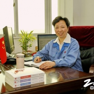 """""""最美基层干部""""南车总法律顾问王延花"""