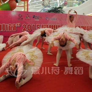 """""""爱小荷""""2015常州少儿跨年晚会节目:《芭蕾之梦》"""