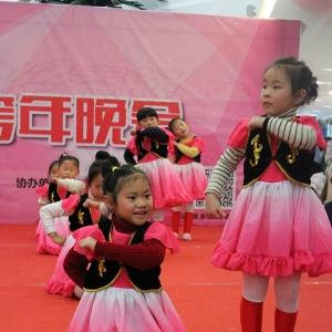 """""""爱小荷""""2015常州少儿跨年晚会节目:《傣家小妹》"""