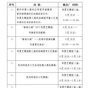 4月30日-5月2日 华夏艺博园第三届民俗游园节
