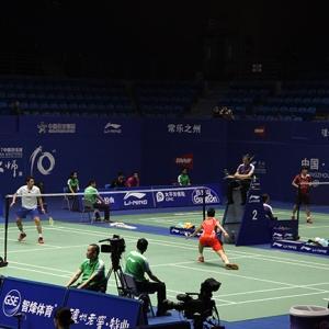 2017中国羽毛球大师赛(常州)探班