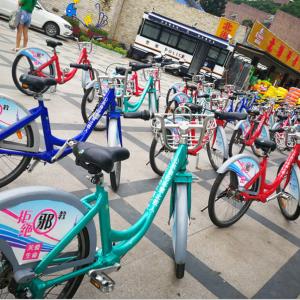 反邪教公益广告打上深圳共享单车