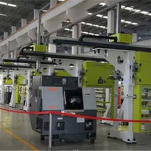 金石机器人:国内首批研发生产桁架式工业机器人