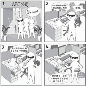 2018国家网络安全宣传周系列动漫④办公区域安全