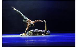 大型舞剧《遇见大运河》18日晚在巴拿马上演展出