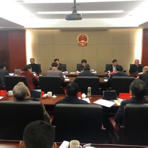 常州市人大常委会党组召开扩大会议