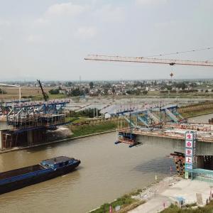 好消息!溧高高速公路芜申运河大桥主体顺利合龙