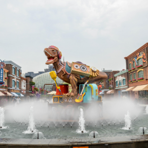 【寻找大运河江苏记忆】常州市水文化地标——环球恐龙城