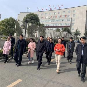 溧阳天目湖代表团到城关镇考察交流