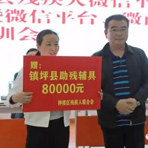 镇坪县召开苏陕协作—残疾人微信平台创业就业表彰暨微信平台、微商培训会议