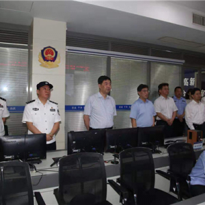 汪泉在调研公安工作时强调 主动提升服务保障发展大局能力