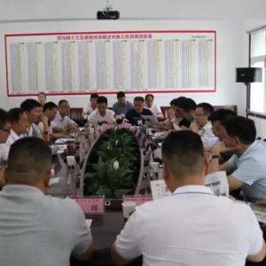 武进区嘉泽镇党政代表团在茨沟镇开展协作交流活动
