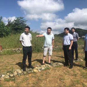 江苏省对口帮扶陕西省工作队赴汉滨区考察调研