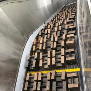 常州地铁1号线自动扶梯制动载荷开始测试