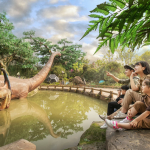 全新区域《恐龙基因研究中心》盛大开放