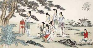 七夕节的习俗:种生求子
