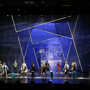 明星版音乐剧《阿尔兹记忆的爱情》常州大剧院精彩上演