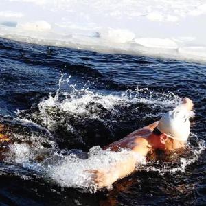 冬泳,严寒中的勇者游戏