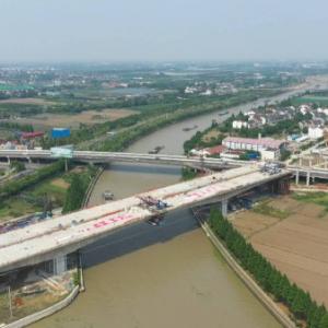 苏锡常南部高速公路建设迎来关键节点