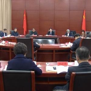 市政府常务会议审议系列文件