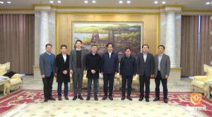 香港贸易发展局考察团来常访问