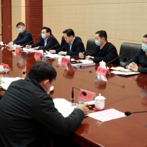 市委党建工作领导小组召开会议
